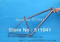 titanium Mountain Bike Frame titanium mountain bike frame Paypal is available