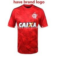 Brazilian league Flamengo home  14 new season thai top quality  embroidery LOGO soccer jerseys free shipping shirts