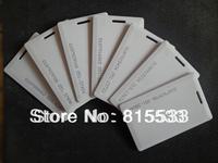 Free shipping 100pcs/lot 125KHz rfid EM ID TK4100/EM4100 Thick Card Access Control System card RFID Card