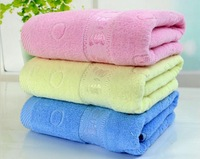 100% cotton bath towel beach towel gift brand towel soft quick dry 70*140cm / 27'' * 55'' pink yellow blue green orange