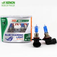 New XENCN HB3 9005 12V 100W 5300K Bluish White Light Xenon Look Super White Car Bulbs Headlight Reliable Quality Lamps 2PCS
