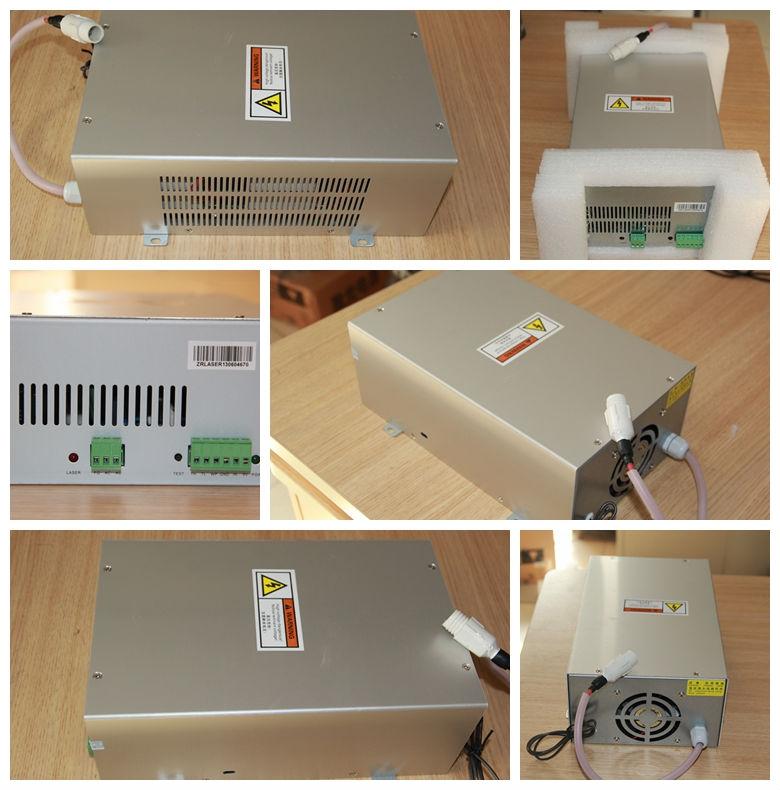 Beste qualität 80 watt co2 laserschneiden gravur Versandkosten frei laser maschine 80w co2-laserleistung