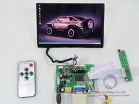 "Free Shipping For Raspberry Pi 1280*800 HDMI+VGA+2AV+Remote Controller+ Brand New 7"" N070ICG-LD1 IPS LED Screen"