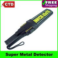 Handheld Super Scanner Metal Detector with Adjustable Sensitivity and Vibration Alert