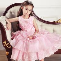 Girls elegant princess beautiful dress,children wedding dress,evening party clothes,evening clothing,free shipping,GQ17