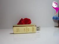 High-speed Gold USB 128MB 8G 16G 32G 64G 2.0 USB Pen Drive Disk Memory Sticks Flash Drive Wholesale Price+ Free Shipping