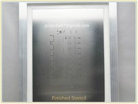 Stencil SMT Stainless Stencil manufacturing for PCB board solder paste Printing