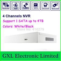 4 CH Megapixel NVR, Linux H. 264  HD, Each channel 30fps realtime, Standalone NVR, GXL-P104E-51P