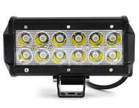 Waterproof Aluminium 7 Inch 36W LED Car Work Lamp Light Bar 2520LM Spot Beam ALL Cars 4x4 Off Road Lamp 50000 hours Life 18952