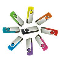 Wholesale Swivel USB Flash Drive 8G-64G pendrive min order 100pcs ,good chip free shipping for DHL
