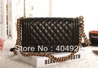 luxury 67086 Dark black Elephant pattern leather  free shipping wholesale and retail brand new fashion bag  women handbag