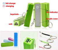 Perfume 2600mAh Portable Mini USB External Mobile Power Bank Charger For Smart Mobile Phone +Micro USB Cable+Retail Box 100sets