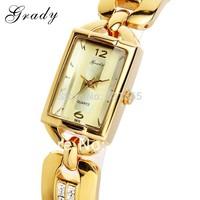 Grady Watches women fashion luxury watch ladies watch 22K gold japan quartz watch