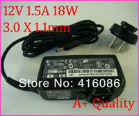 NEW Top Quality Charger 12V 1.5A 18W ADP-18AW for Acer Iconia Tablet A110 A210 A211 A220 A501 A100 A101 A200 A201 A500 A501P