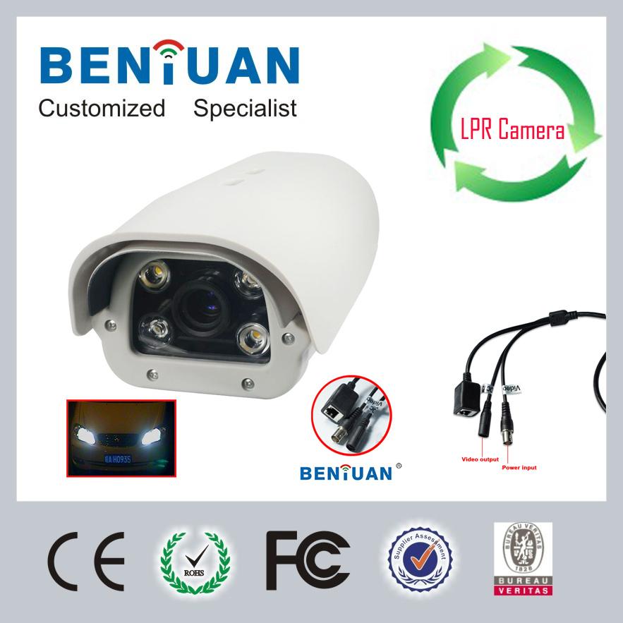8 polegadas 700TVL 6 milímetros a 60mm Varifocal Rodovia IP matrícula Captura Câmera Com 4pcs IR Leds de matriz(China (Mainland))