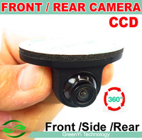 Mini CCD HD Night Vision 360 Degree Car Rear View Camera Front Camera Front View Side Reversing Backup Camera