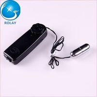 Wholesale 100 pcs/lot sex cable vibrator black vibrating egg silver bullet for female sex toys XQ-001D