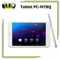 New Arrival 7.85 Inch  MTK 8389 Quad-Core 1.2GHz Dual Camera Wifi 3G GPS 4000mAh Original Capacity Battery Andriod 4.2 Tablet PC