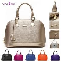 New bag women fashion handbag 2014 genuine leather OL lady shell Celebrity work tote female bags fashion shoulder messenger bag