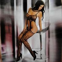 Sexy Women's Bodystocking Open Crotch Bodystocking Sexi Lingerie Bodysuit Costume 2056 Free Shipping