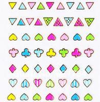 12 Pcs 2014 New 3d nail art decal sticker