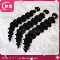 Big promotion!!Peruvian deep wave aaaaa grade human hair wholesale cheap virgin unprocessed hair weave 3pcs lot