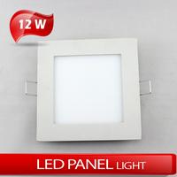 12W Square panel light LED 12W ceilinglight warm white/cold white AC85V~265V