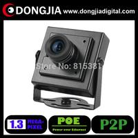DONGJIA DA-IP6145HM-POE  Low illumination 1.3 megapixel 960P mini ip cctv camera