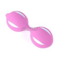 18pcs/lot KEGEL Exercise Benwa Smartballs Duo Geisha Vaginal Tight Aid Ball sex toy - 6 Colors B26 19315