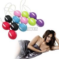 6pcs/lot Smart Bead Ball Love Ball Virgin Trainer Sex Product For Women, smart love ball make a tighter vagina Colors B26 19315