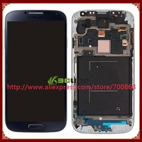 For Samsung Galaxy S4 i337 M919 LCD With Touch Screen Assembly Free Shipping White Or Blue Color