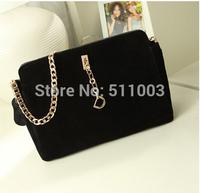 Bagsok Designer Women Leather Handbags Candy Color Women Leather Bag School Bags Pu Leather Free Shipping Messenger Bags