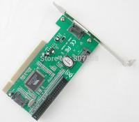 PCI to 3 Ports SATA +1 IDE Controller RAID Card Adapter PCI to SATA/IDE card