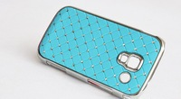 For Samsung Galaxy Ace 2 ACE2 i8160 GT-i8160 Good Quality Diamond Bling PC Hard Case Cover FA017