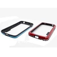 1 Pcs Dual-color Design TPU Frame Bumper Case For  Google Nexus 4 LG E960 Case Free Shipping