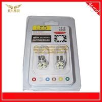 10pcs/lot LED Bulb Light T10 1210 4SMD white dome light led lamp for cars auto Turn Signal Light Lamp