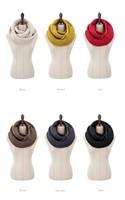 2014 HOT Fashion Style Unisex Winter Knitting Wool Collar Neck Warmer Woman Ring Scarf Shawl Scarves, SC180001
