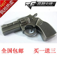 Free Shipping Usb flash drive pistol usb flash drive  personalized usb flash drive girls male metal mini cartoon
