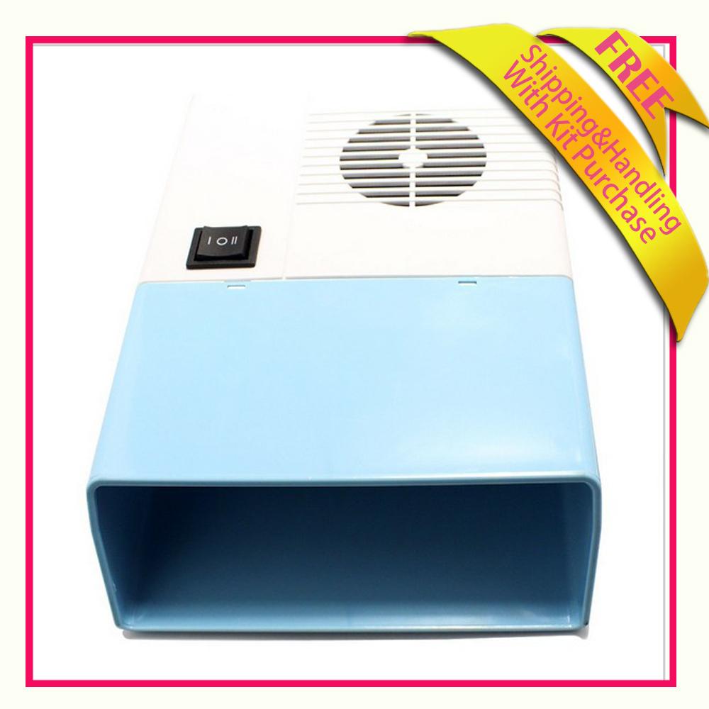Nail Art Gel Tip Polish Blower Fan Acrylic UV Gel Tip Machine Dryer Finger Free shipping(China (Mainland))