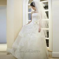 2014 clothing Bra white lace wedding dress long sections vestido de novia vestido de noiva 016