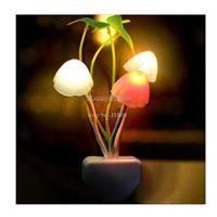 5PCS/LOT Round Head Plug Electric Induction Dream Mushroom Fungus Night Light Lamp,LED Table Lamp,Energy Saving Light 19265