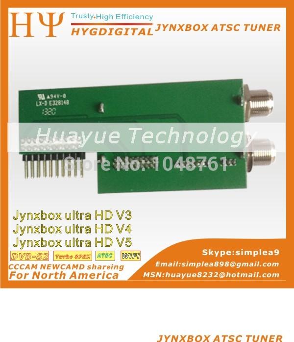 JynxBox ATSC Tuner Module For JYNXBOX ULTRA HD V4 JYNXBOX ULTRA HD V3 JYNXBOX ULTRA HD V5(China (Mainland))