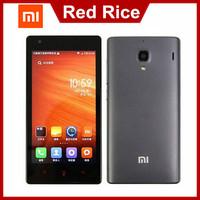 Original Xiaomi Red Rice 1S WCDMA Redmi Xiaomi Hongmi 1S WCDMA Phone Qualcomm Quad Core Android Mobile Phone White Smartphone 3G