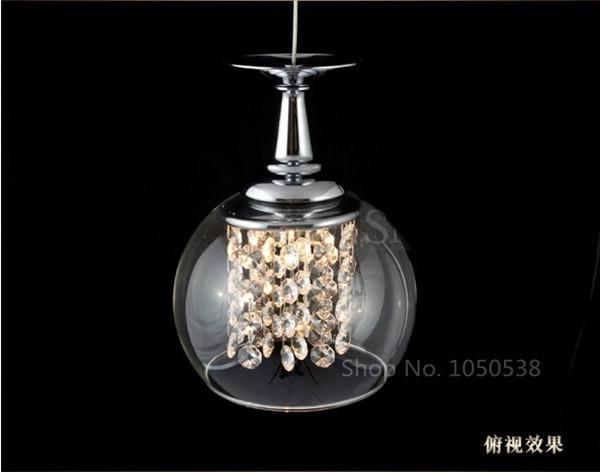 Acquista allingrosso Online lampadari in vetro di vino da ...