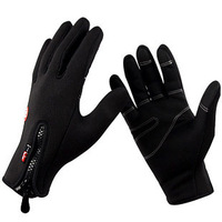 Windstopper Gloves Outdoor Sports Men Women Cycling Bike Driving Motorcycle Warm Warm Hiking Ski Touch Screen Long Winter Gloves
