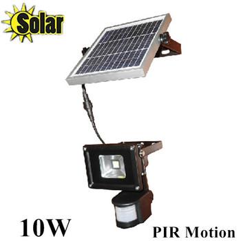 Прожектор с датчиком движения на солнечной энергии