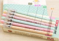 12 pcs/lot SCM School&Office Gel Pens Simple Style 0.35mm Core Black Ink Korea Novelty Cute Stationery Gel Pen For Kids New