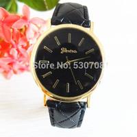 Luxury Brand Moving Stitch Men Casual Watch Quartz Luxury Genuine Leather Strap Watches Fashion Geneva Watches