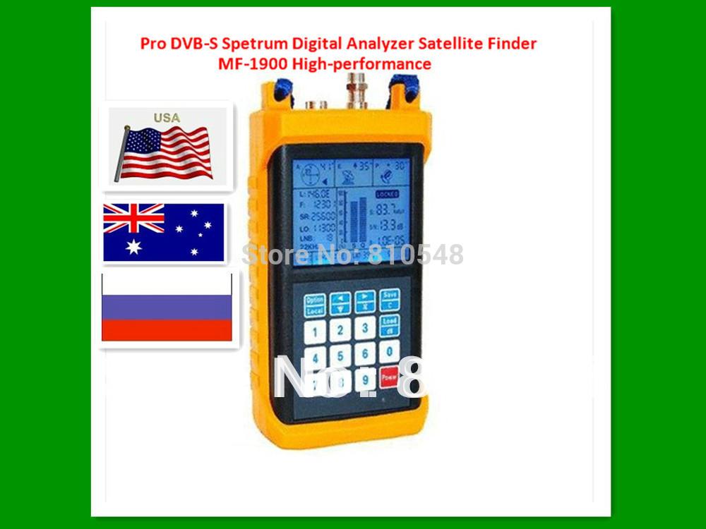 TRACKER LIGHT OTM500 FS1 Pro Digital Satellite Finder Sat Signal Meter MF-1900 SWM Compatible Direc TV Dish Network(China (Mainland))