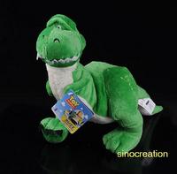 Free Shipping Plush Rex The Story Of Dinosaur -- Green Dinosaur Eleka, Cuddly Baby Soft Toy, Best Kids Gifts